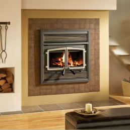 Stratford Wood Fireplace black