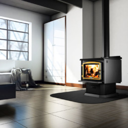 2300 Wood Stove with blower