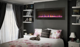 Napoleon Allure electric fireplace 60'' to recess