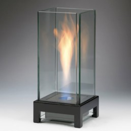 Stratos table ethanol fireplace