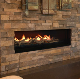 Woodbridge gas fireplace