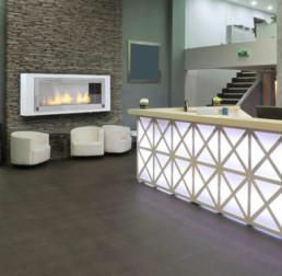 Eco-feu ethanol fireplace