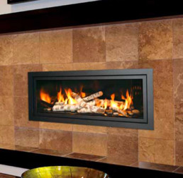 Mendota gas fireplace