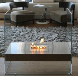 Foyerenligne ethanol fireplace