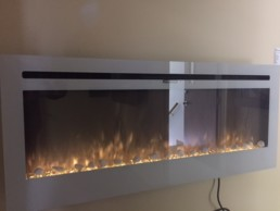 TöSO electric fireplace linear 50
