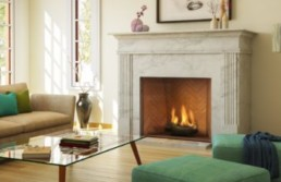 Ortal traditional gas fireplaces